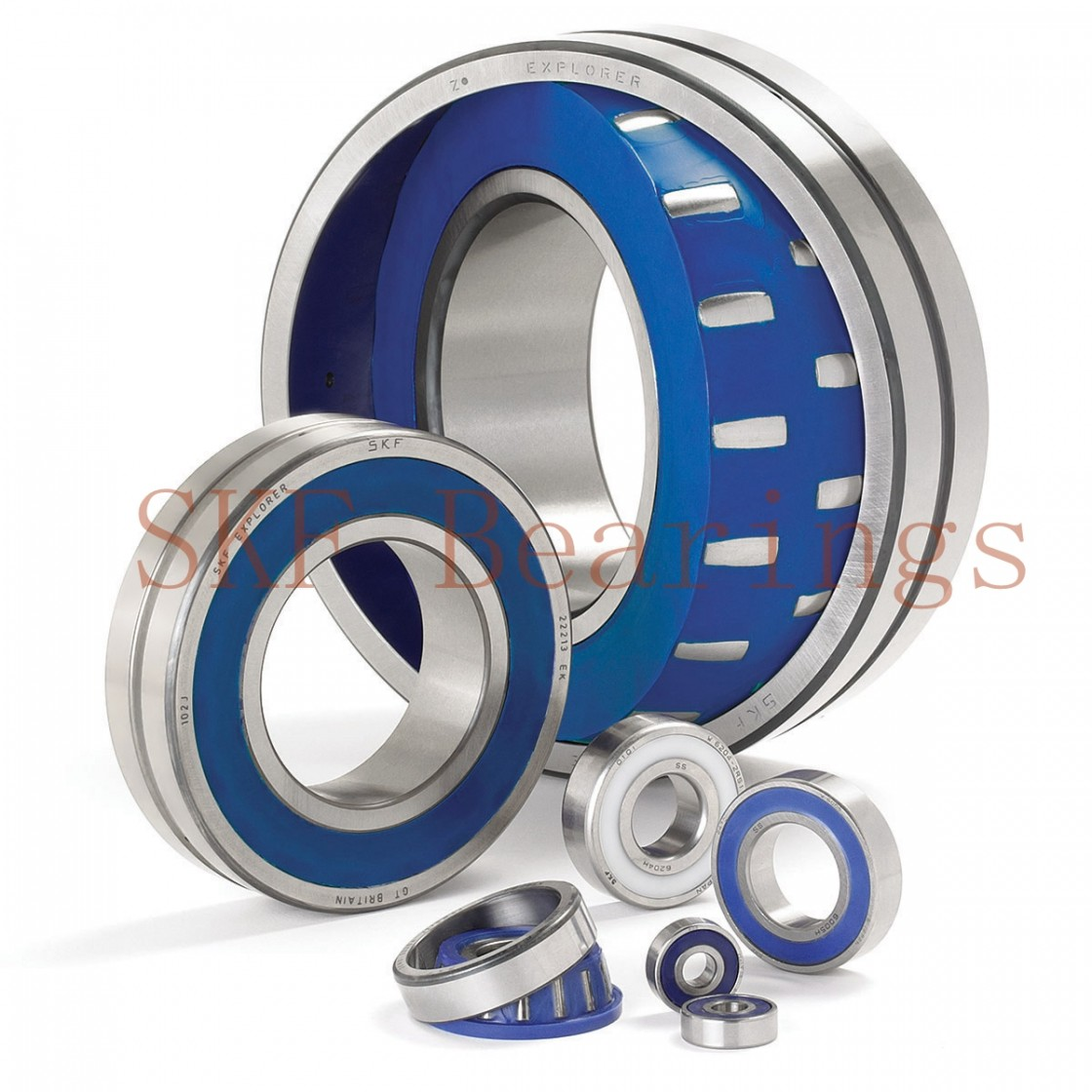 45 mm x 84 mm x 41 mm  SKF BAH-0204E angular contact ball bearings