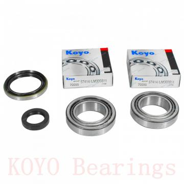 57,15 mm x 120,65 mm x 41,275 mm  KOYO 623/612 tapered roller bearings