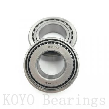 90 mm x 140 mm x 24 mm  KOYO NU1018 cylindrical roller bearings