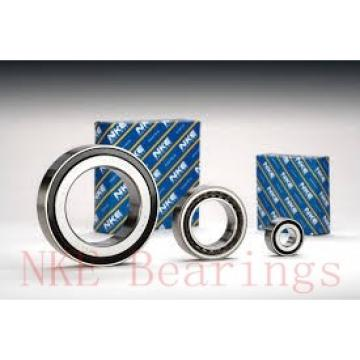 90 mm x 190 mm x 43 mm  NKE 6318-RSR deep groove ball bearings
