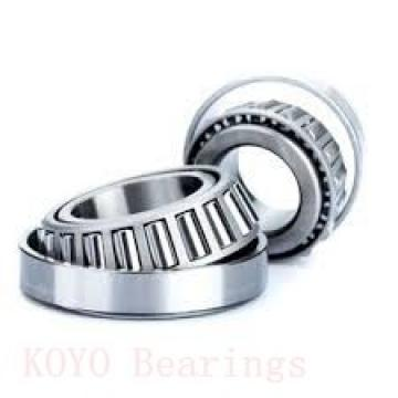 55 mm x 90 mm x 23 mm  KOYO 32011JR tapered roller bearings