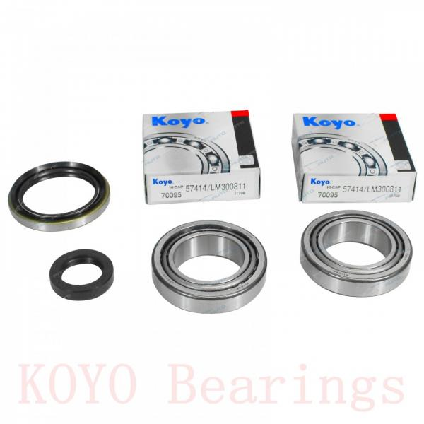 266,7 mm x 444,5 mm x 117,475 mm  KOYO H852849/H852810 tapered roller bearings #2 image